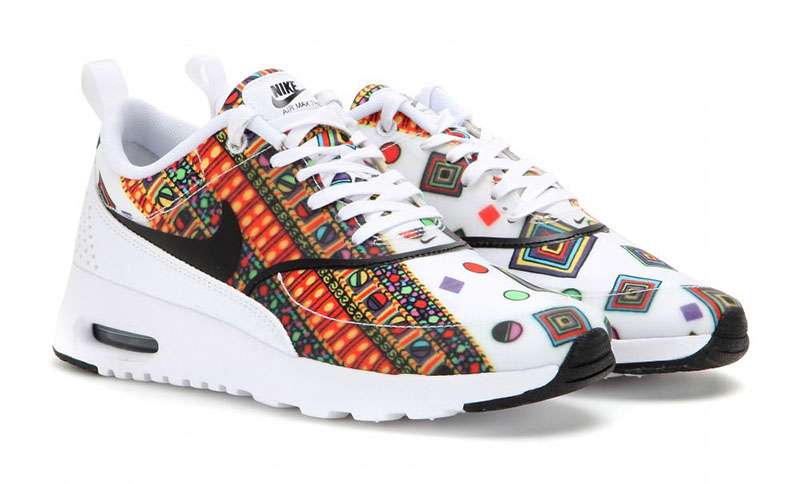 Don't be shy! Bring out your printed sneakers this summer