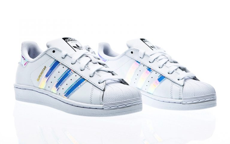 adidas Originals Junior Superstar Foundation Trainer White