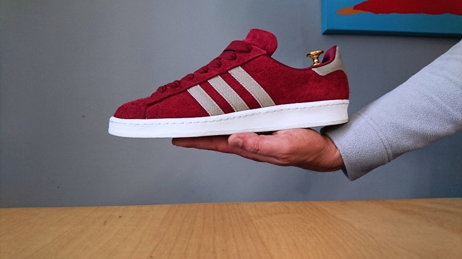 """brand new 9dd80 676d2 Shoebiz x Adidas Campus 80s """"Stanford"""" Back to Campus Pack"""