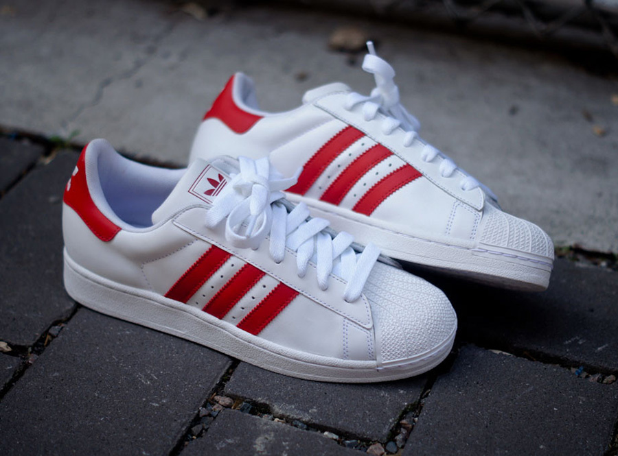 adidas superstar 2 colors