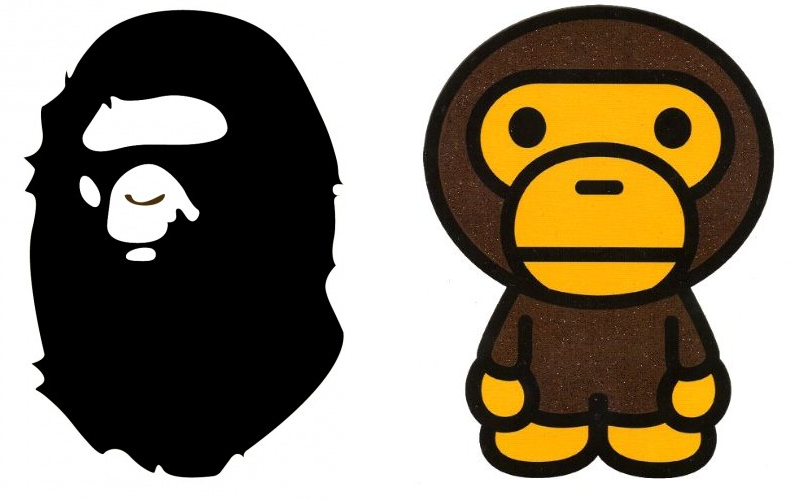 history of bape a bathing ape thatshoeguy rh thatshoeguy com ape clipart apa clip art citation